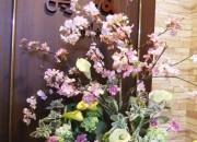 エントランス お花